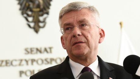 Marszałek Senatu Stanisław Karczewski odwiedzi Ełk i Giżycko (fot. PAP/Jacek Turczyk)