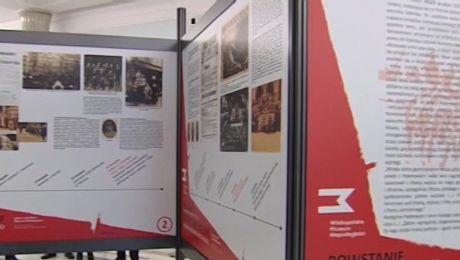 Teleskop: W Sejmie otwarto wystawę poświęconą Powstaniu Wielkopolskiemu (22.02.2017)