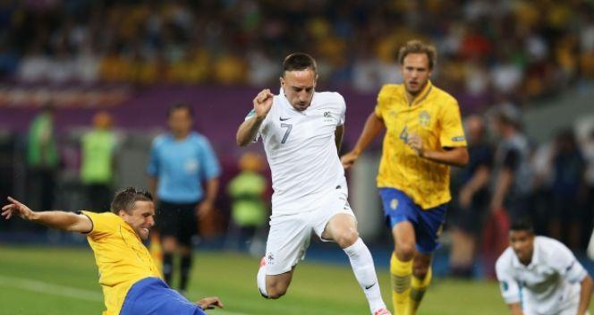 Ribery wciąż czeka na pierwsze trafienie w polsko-ukraińskim turnieju (fot. Getty Images)
