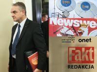 """""""Niemcy kupili sobie Fakt, Newsweek, Onet, żeby mieć większy wpływ na Tuska"""". Portal tvp.info ujawnia nową taśmę"""