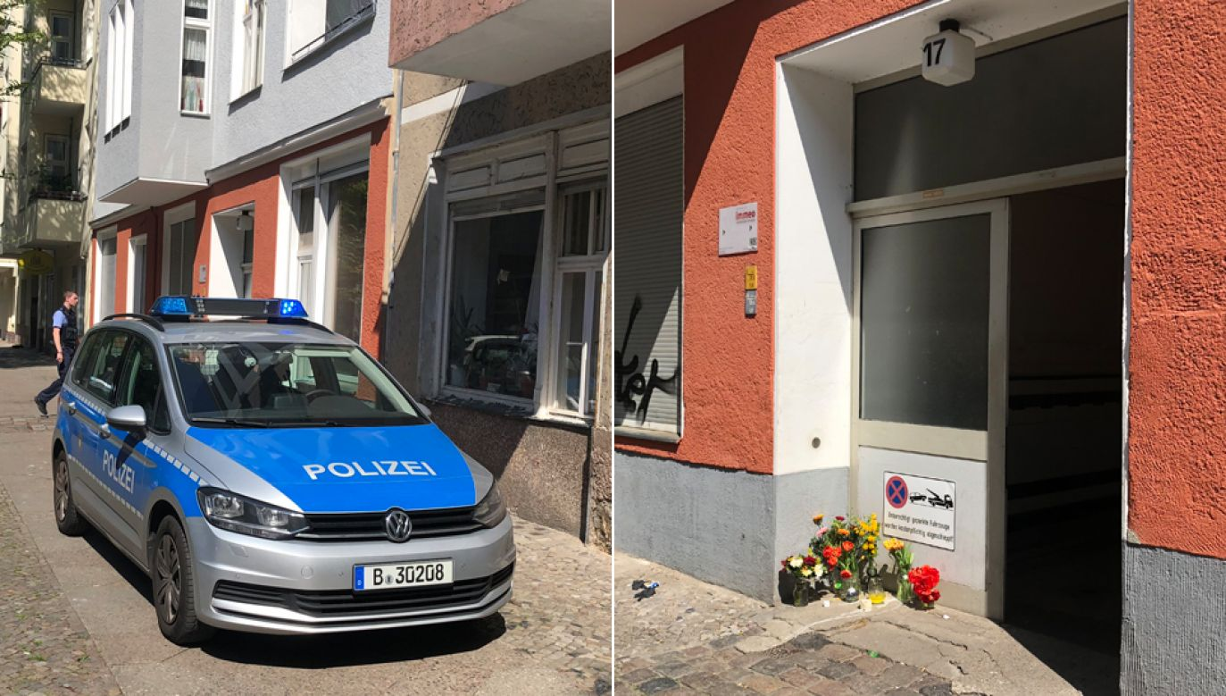 Policja zatrzymała domniemanego sprawcę (fot. Cezary Gmyz)