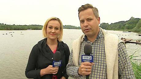 Prowadzący Lato w Regionach Anna Sabat - Pezdan i Marcin Pawlak