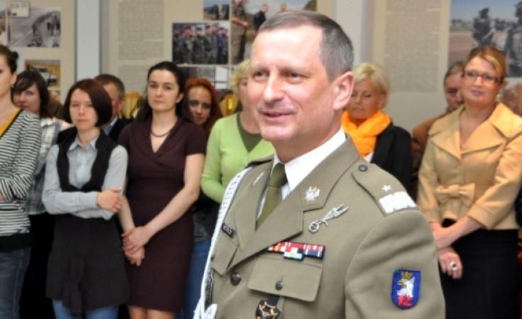 Gen. Motacki służył m.in. w Afganistanie (fot. 12 Szczecińska Dywizja Zmechanizowana)