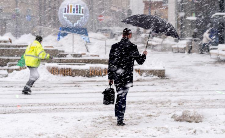 Atak zimy potrwa jeszcze kilka dni (fot.  PAP/Andrzej Grygiel)