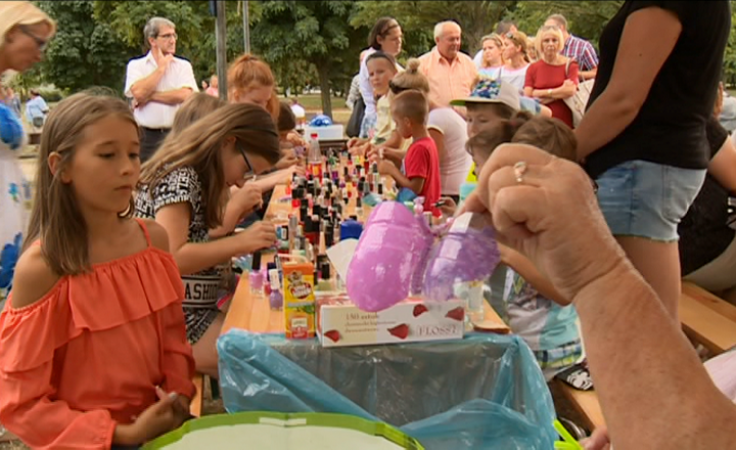 Słodko i rodzinnie na pikniku w parku Górczyńskim