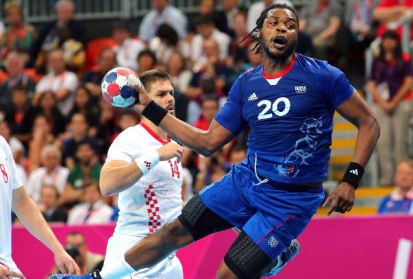 Chorwaci nie byli w stanie dogonić Francuzów (fot.PAP/EPA)