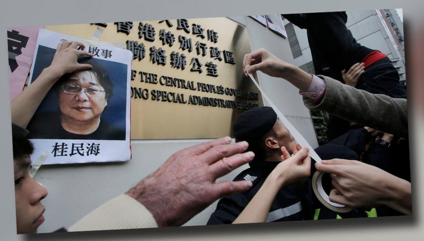 Gui Minhai sprzeciwia się reżimowi, za co spotykają go represje (fot. TT)