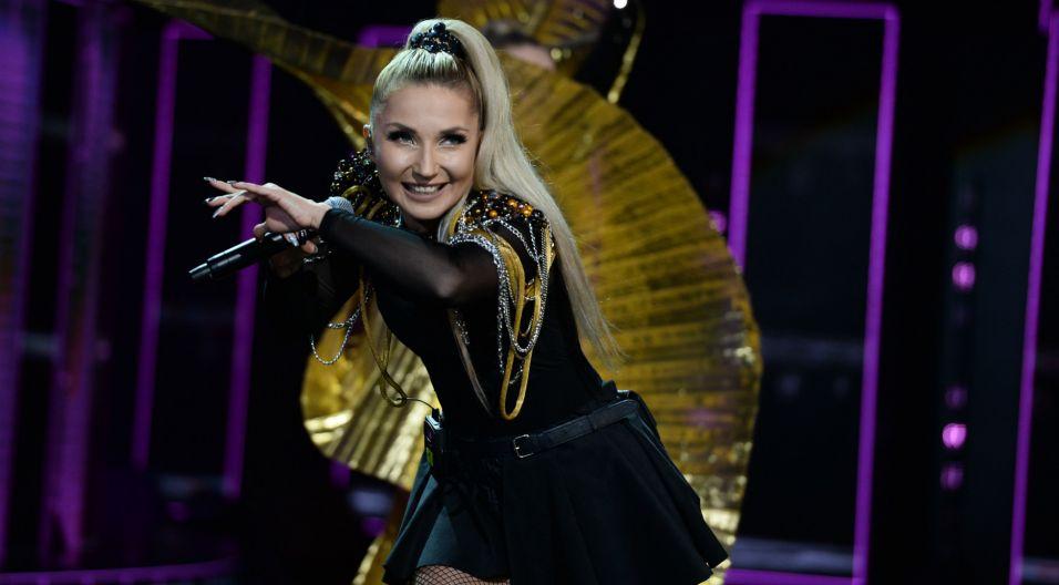 Cleo na opolskiej scenie w tym roku pojawiła się już drugi raz (fot. TVP)