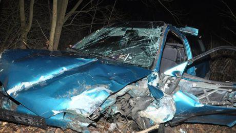 Do wypadku drogowego doszło na terenie gminy Małdyty w miejscowości Leśnica.