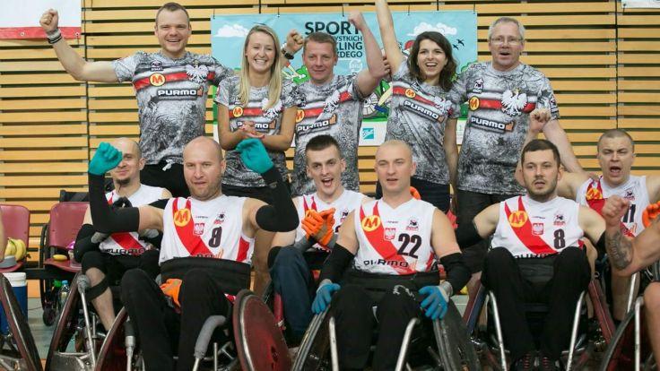 Fot. Facebook: Reprezentacja Polski w Rugby na Wózkach