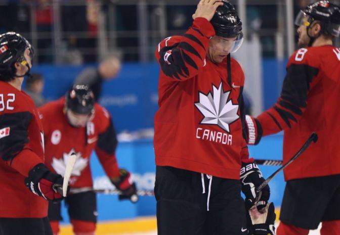 Kanadyjska seria porażek w grach zespołowych