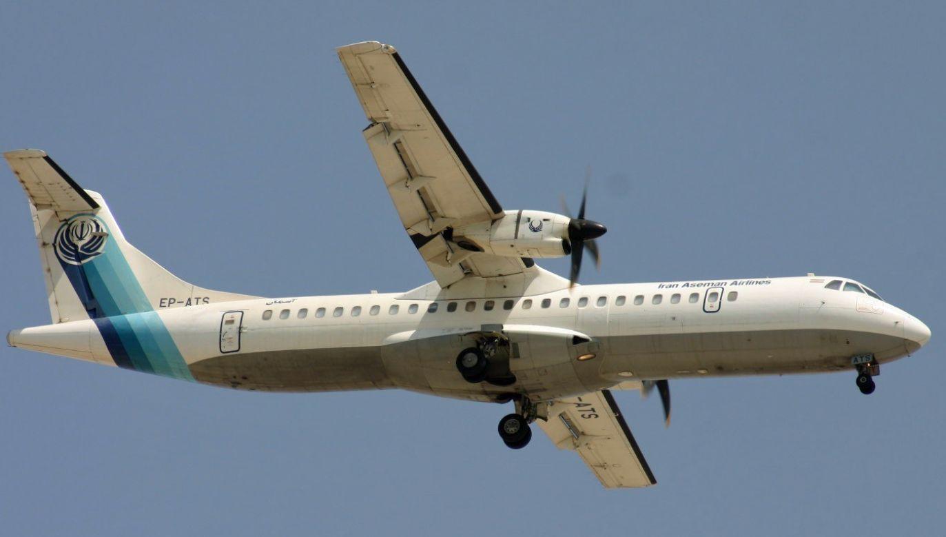 Samolot irańskiego przewoźnika Aseman rozbił się w górzystym terenie (fot. Wikiomedia Commons/Aeroprints.com)