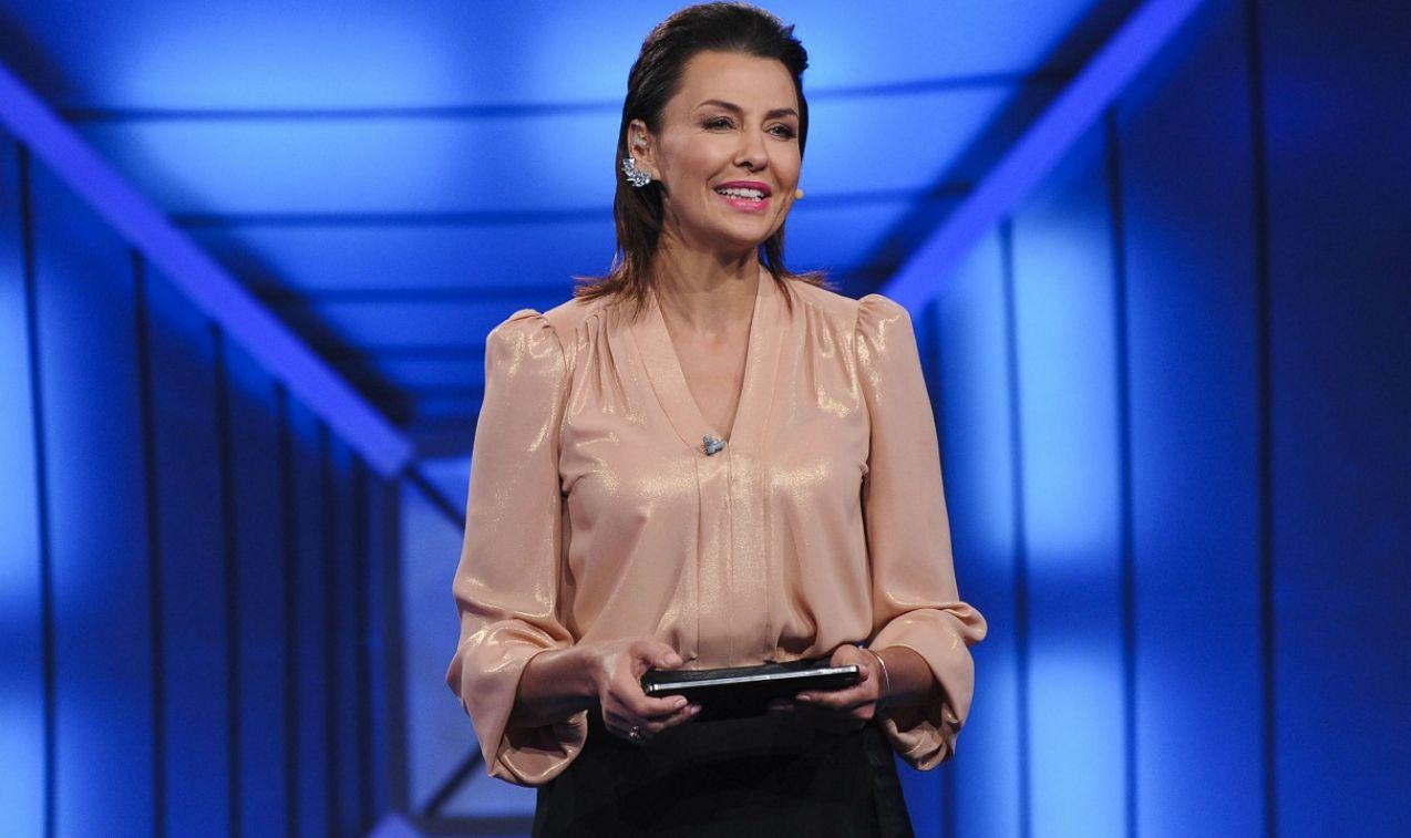Gospodarzami Testu byli Anna Popek... (fot. Natasza Młudzik/TVP)