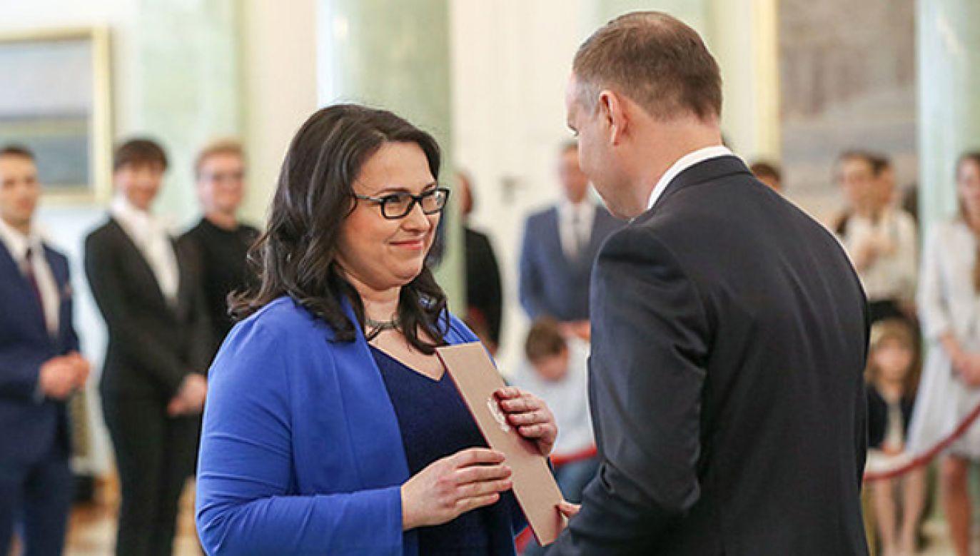 Prezydent powołał 29 sędziów i trzech asesorów (fot. KPRP/Grzegorz Jakubowski)