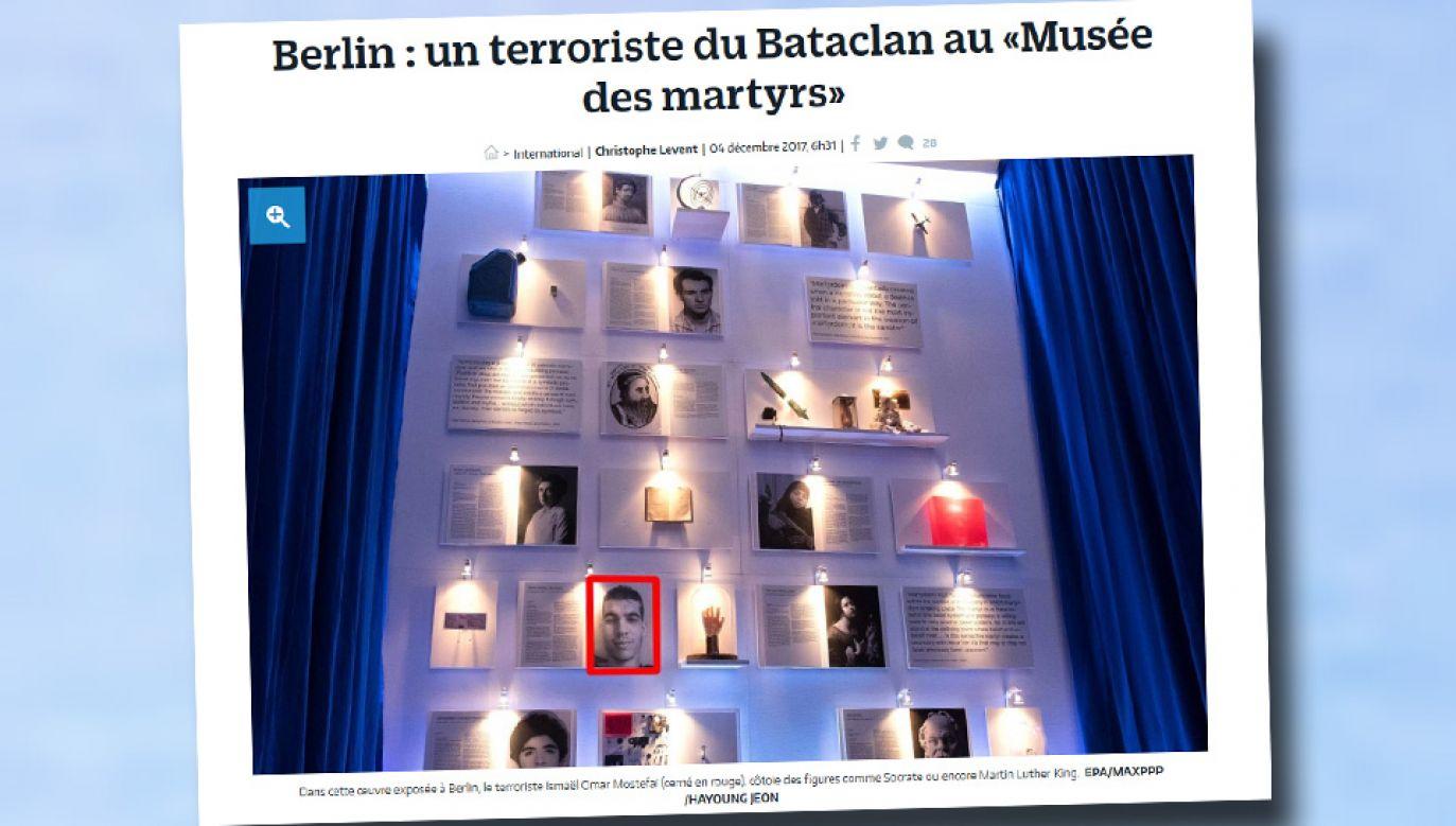 Wystawę przygotowało dwóch duńskich artystów (fot. Parisien.fr)