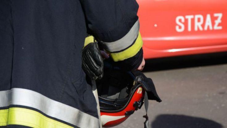 Strażacy w zgliszczach znaleźli ludzkie szczątki