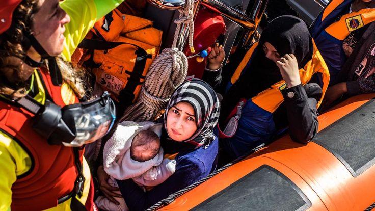 Największe miasta chcą współpracować ws. migracji  (fot.  Marcus Drinkwater/Anadolu Agency/Getty Images)