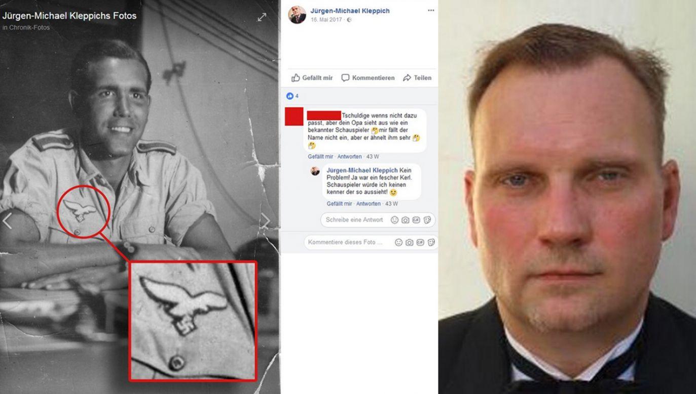 Austriacki dyplomata jest też członkiem rady dzielnicy w Wiedniu z ramienia partii FPÖ (fot. tt/@immer_bereit/@Kleppich)