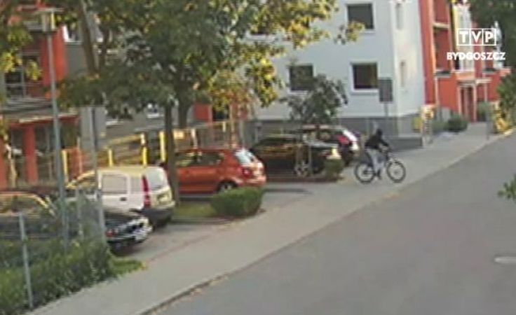 Złodziej zabrał kolejny rower z zamkniętego osiedla!