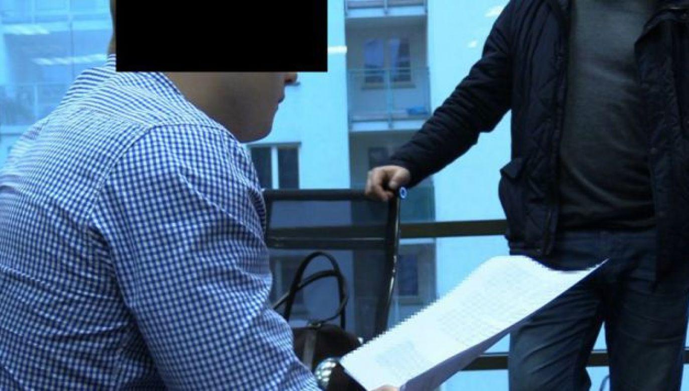 Oskarżonemu grozi nawet 15 lat więzienia (fot. Policja)