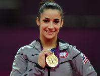 Alexandra Raisman, amerykańska gimnastyczka (fot. Getty Images)