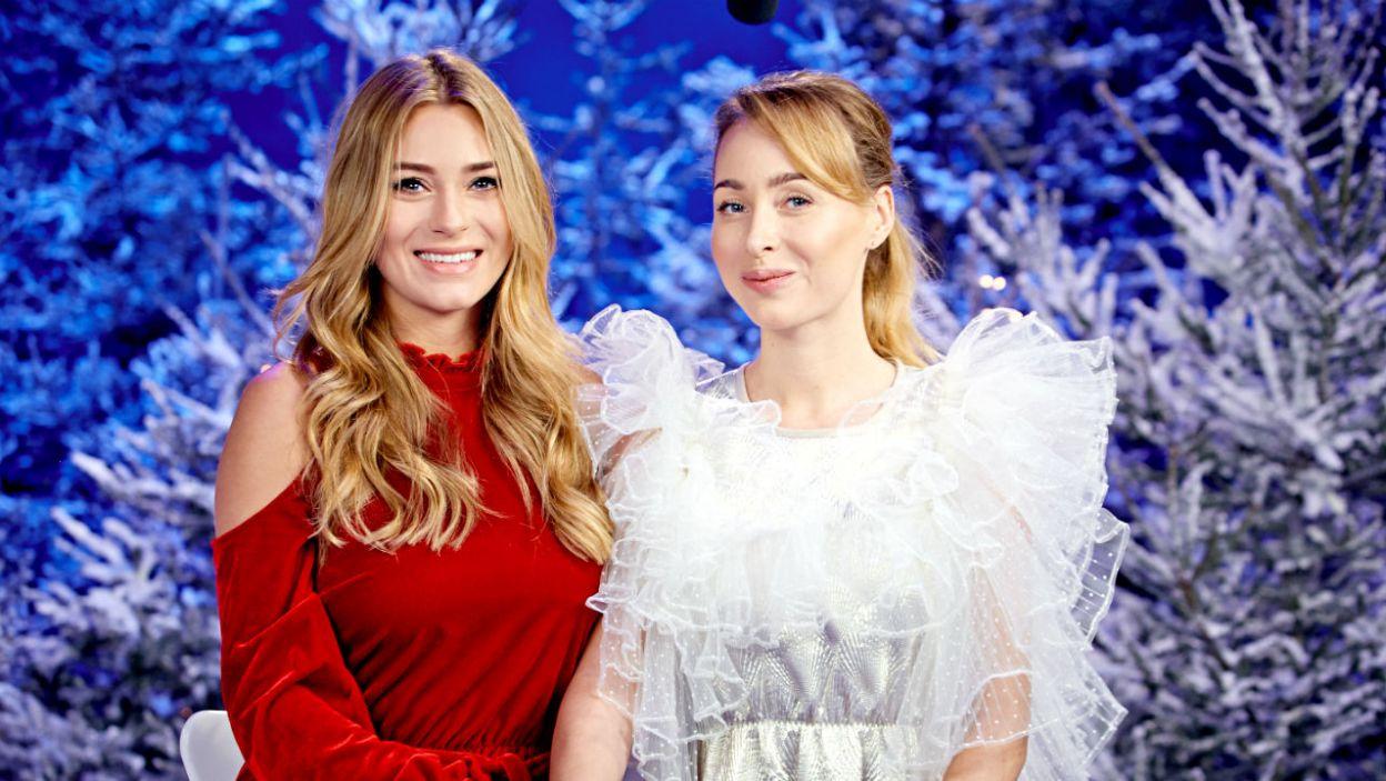 A oto uczestnicy: Marcelina Zawadzka z siostrą Karoliną (fot. TVP)