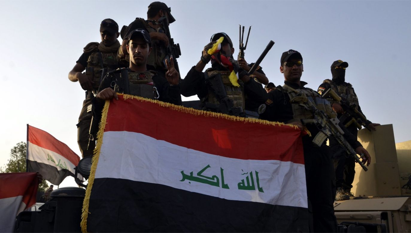 Wojsko irackie przejęło kontrolę nad granicą z Syrią (fot. PAP/EPA/STR)