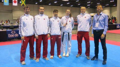 Reprezentacja Polski na turnieju US Open 2015. (fot. www.new.pztaekwondo.pl).
