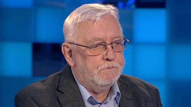 Jerzy Stępień był gościem programu (fot. TVP Info)
