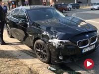 Rządowa limuzyna ministra Kownackiego miała stłuczkę