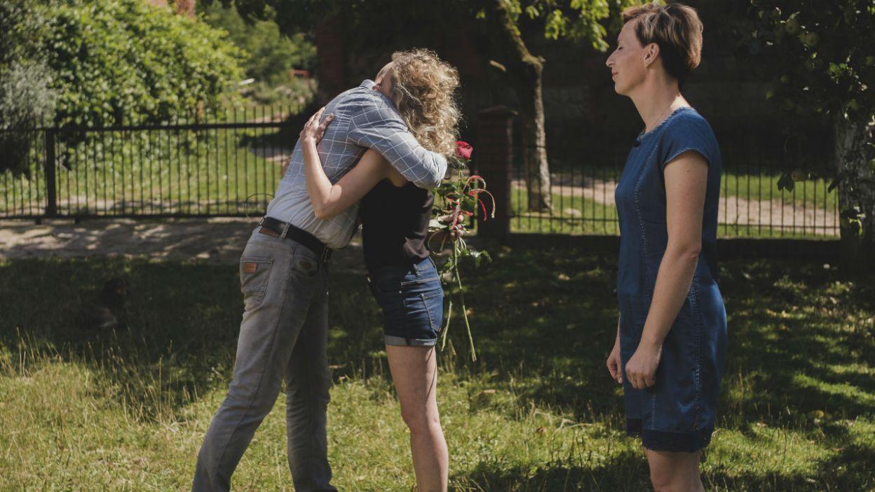 Pożegnania nie były łatwe (fot. TVP)