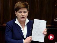 Sejm przyjął program 500+. Szydło do opozycji: możecie mnie nazywać kłamczuchą, ale to wyraz waszej bezradności