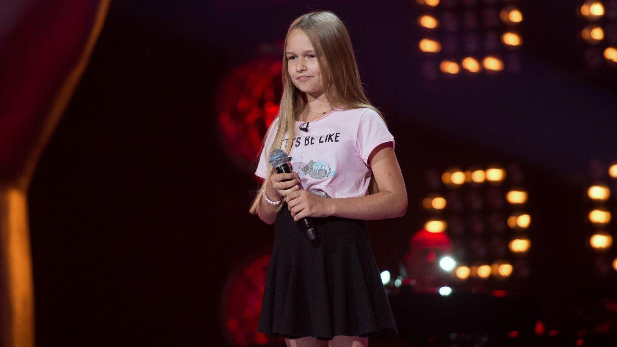 – Serce się raduje, jak wspaniałe dzieciaki są w tym programie! – cieszyła się Cleo po występie Hani (fot. J. Bogacz/TVP)