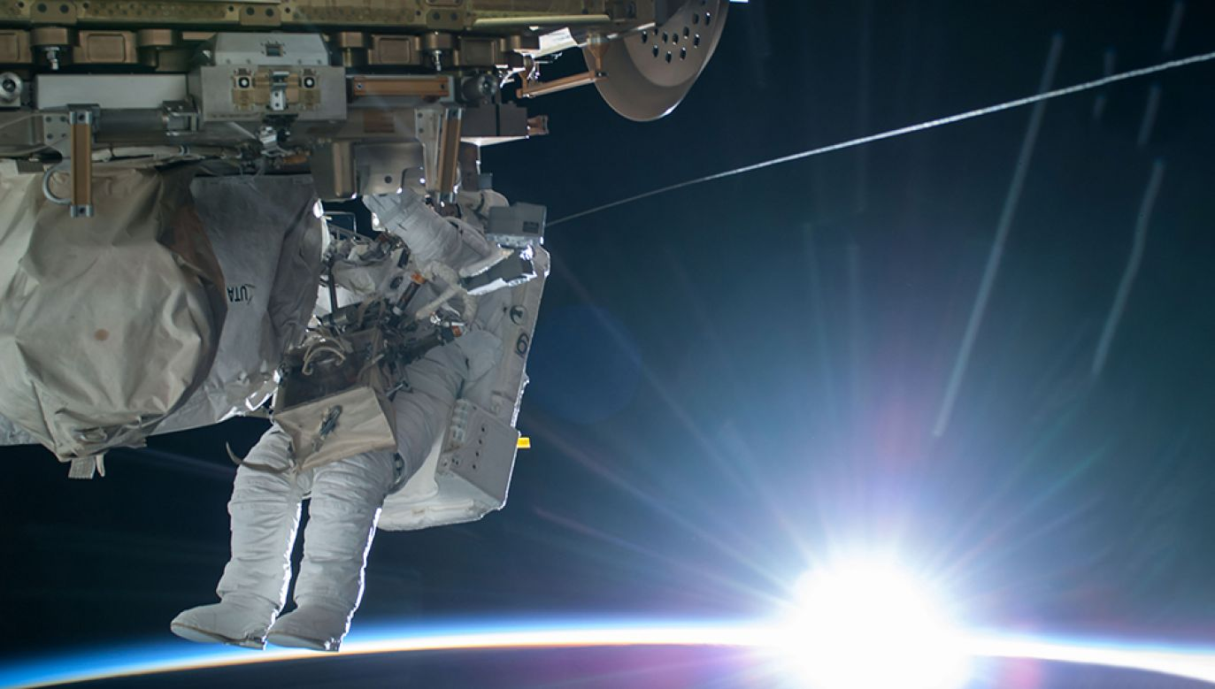 Do budowy nowej stacji kosmicznej użyta zostanie Międzynarodowa Stacja Kosmiczna ISS (fot. REUTERS/NASA/Handout)