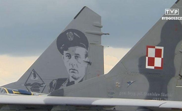 Gen. Skalski na skrzydłach MiGa