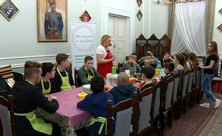 Dzieci z Ukrainy spędzają ferie w Sieniawie