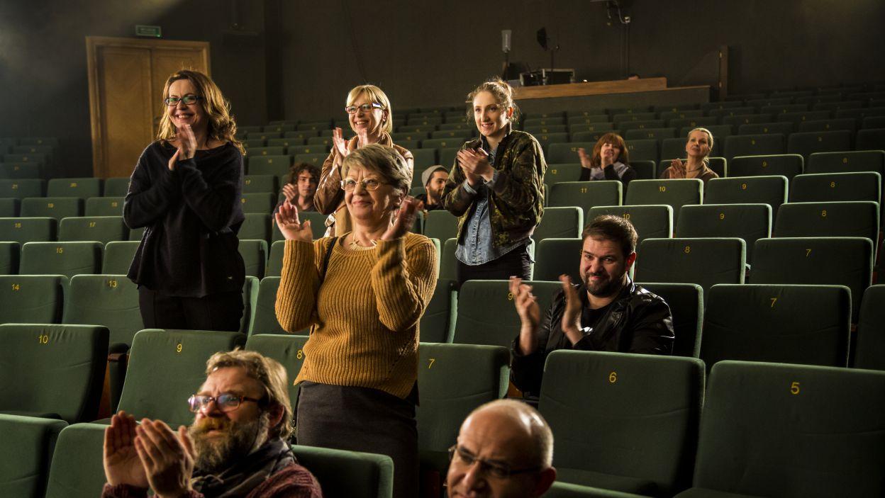 Aktorzy nie tracą nadziei (fot. Maria Wytrykus)