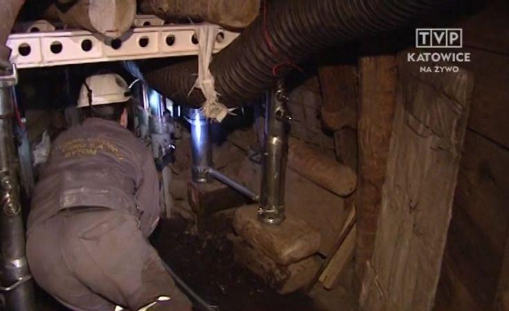 Trwa akcja w kopalni Wujek Śląsk