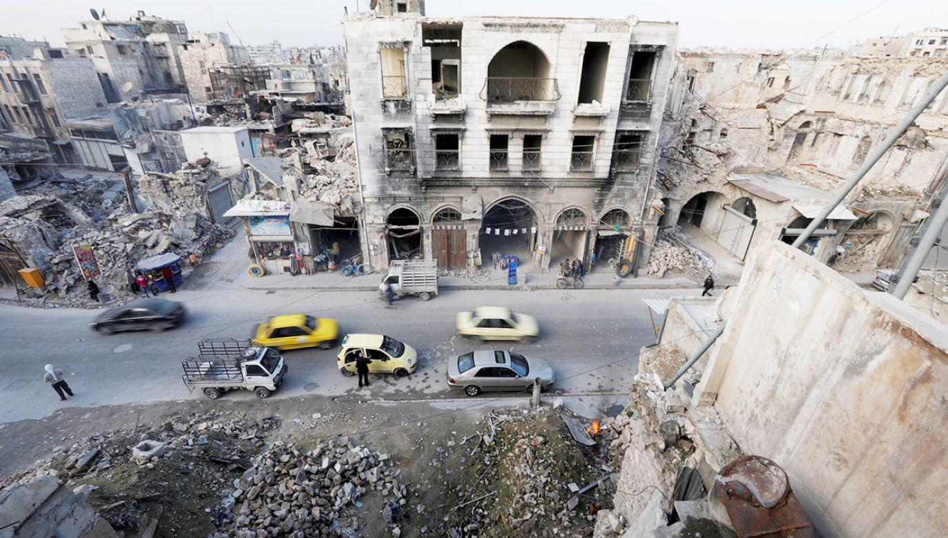 W Aleppo Kościół pomaga w odbudowie domów, współfinansuje tzw. miniprojekty na uruchamianie małych firm (fot. REUTERS/Omar Sanadiki)