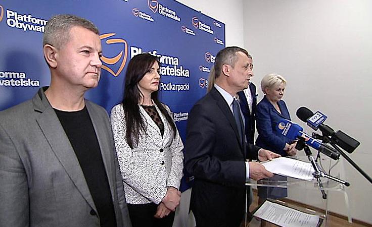 Nowe władze w podkarpackiej Platformie Obywatelskiej