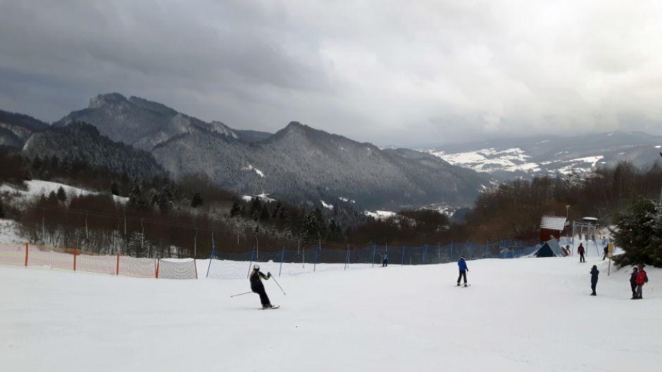 Szafranówka wyciąg narciarski w Szczawnicy (fot. mmas)