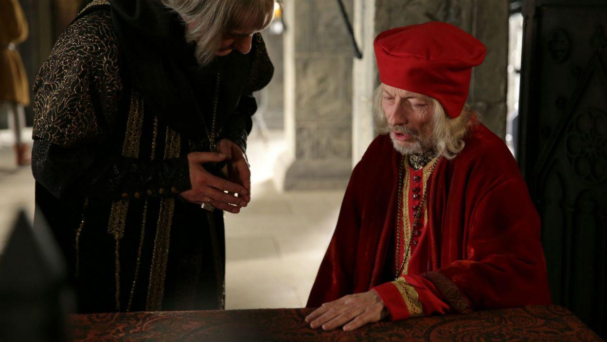Czy Grot ma coś na swoją obronę? Czy żądny władzy biskup walczył nie tylko z władcami, ale też z duchowieństwem? (fot. TVP)