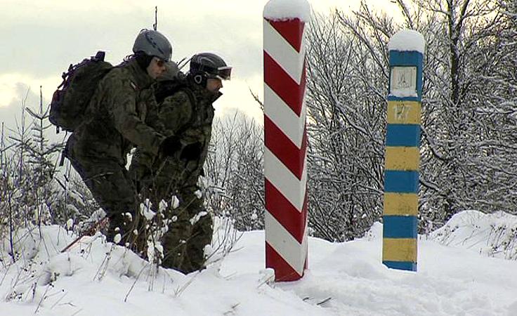Pogranicznicy w przygotowaniach do akcji