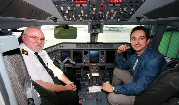 Wizyta w kabinie Embrayera 175