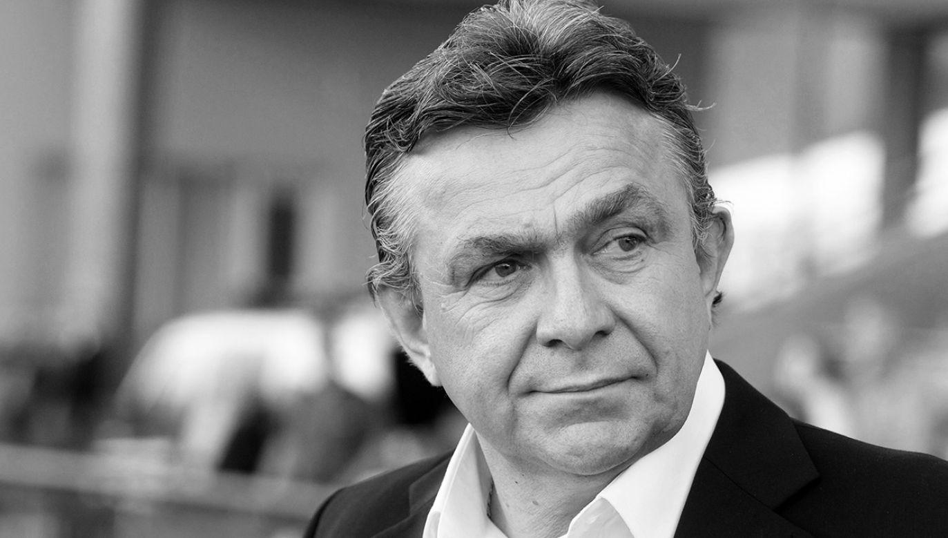 Janusz Wójcik (fot. arch. PAP/Grzegorz Michałowski)