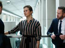 Rozpoczyna się rozprawa przeciw jednej ze stewardess z załogi Mariusza, pozwanej przez pasażera (fot. A. Grochowska)