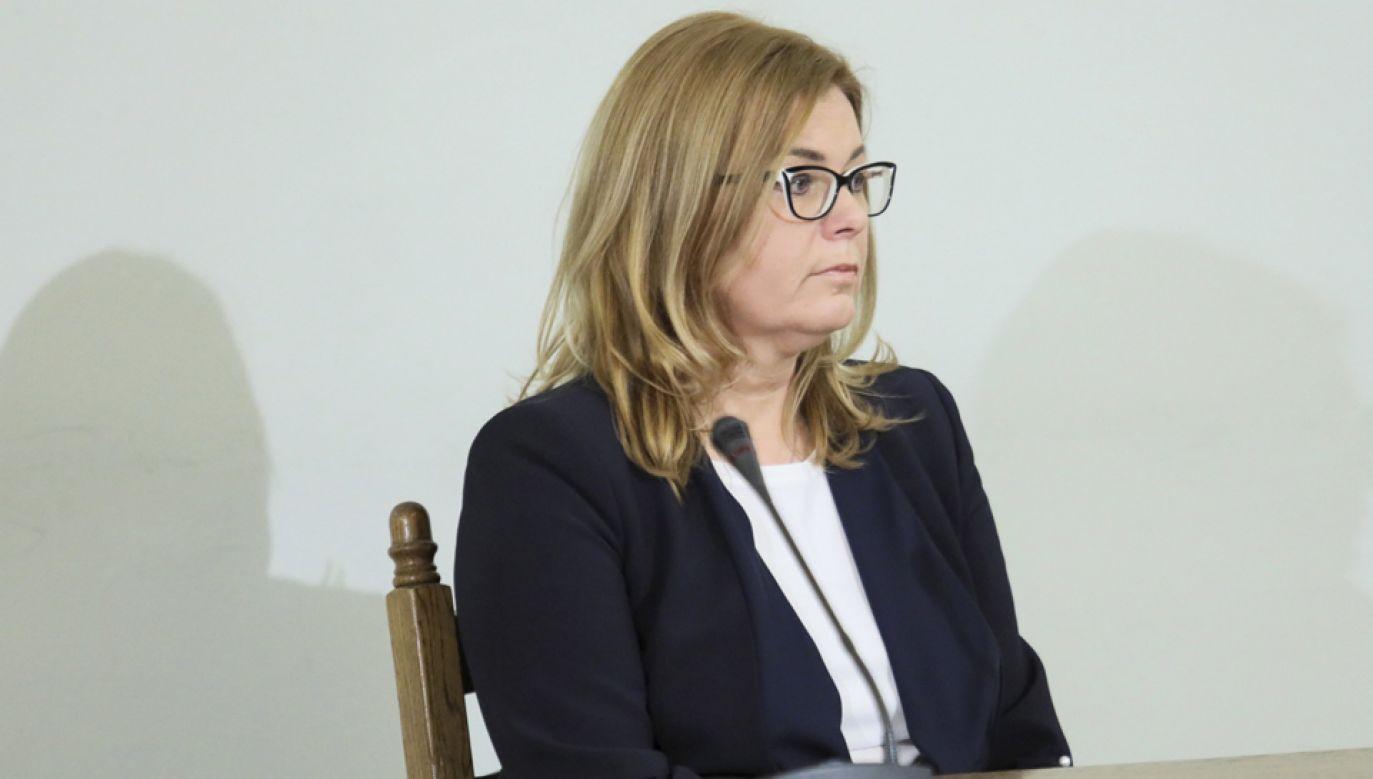Prokurator Prokuratury Regionalnej w Gdańsku Anna Gurska  (fot. PAP/Leszek Szymański)