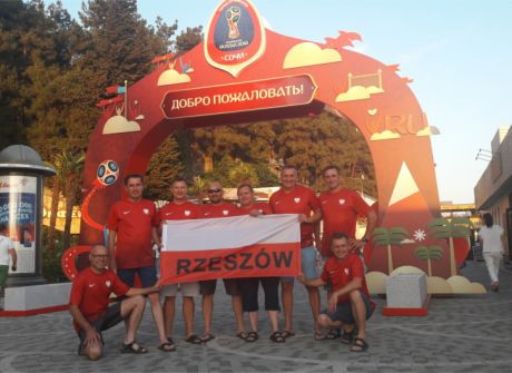 Ekipa TVP3 Rzeszów- podróż do Soczi