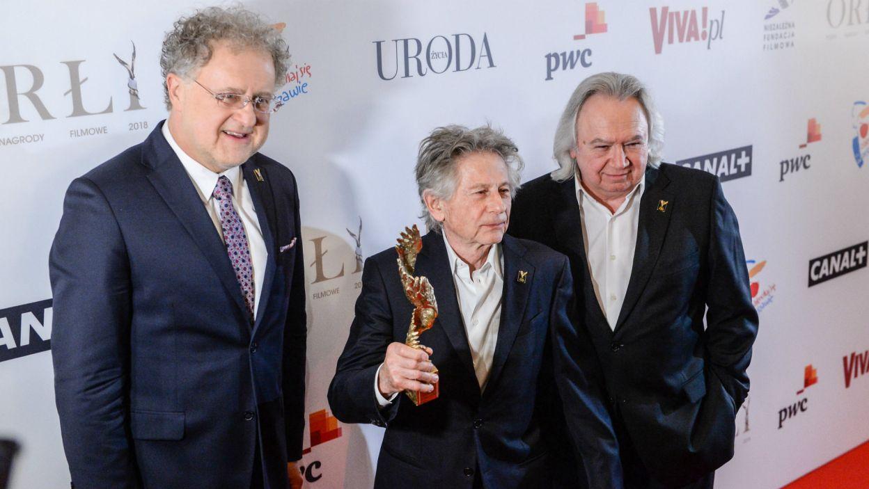 – Ten film jest moim talizmanem. Po dwudziestu latach otrzymanie takiej nagrody ma dla mnie niesłychane znaczenie – powiedział reżyser (fot. PAP)