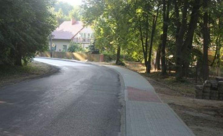 Nowy chodnik w Przyjezierzu